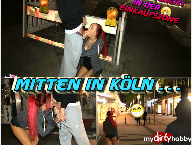 DREISTER gehts nicht ! Monsterschwanz mitten in Köln !