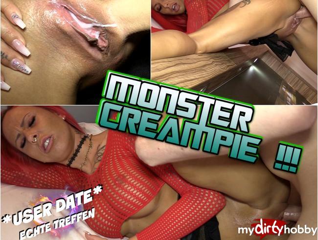 USER DATE : Monster Creampie !!!